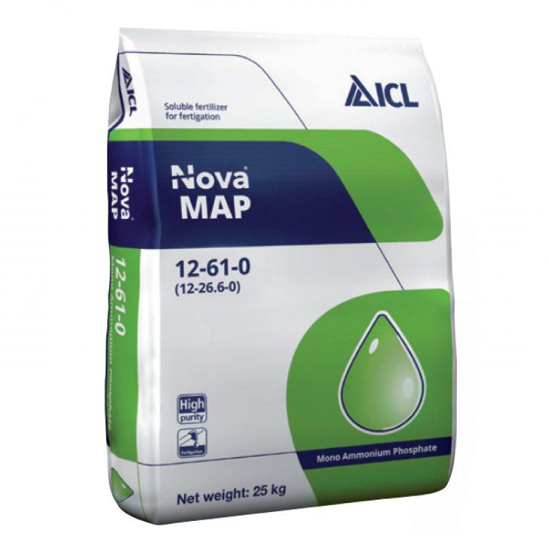 Phân bón Nova MAP 12-61-0 (25kg/bao) - ICL